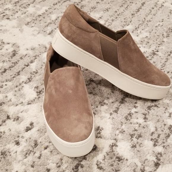Vince Shoes   Vince Warren Suede Slip